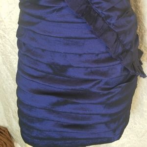 City Triangles Dresses - City triangles blue party dress with ruffles 13